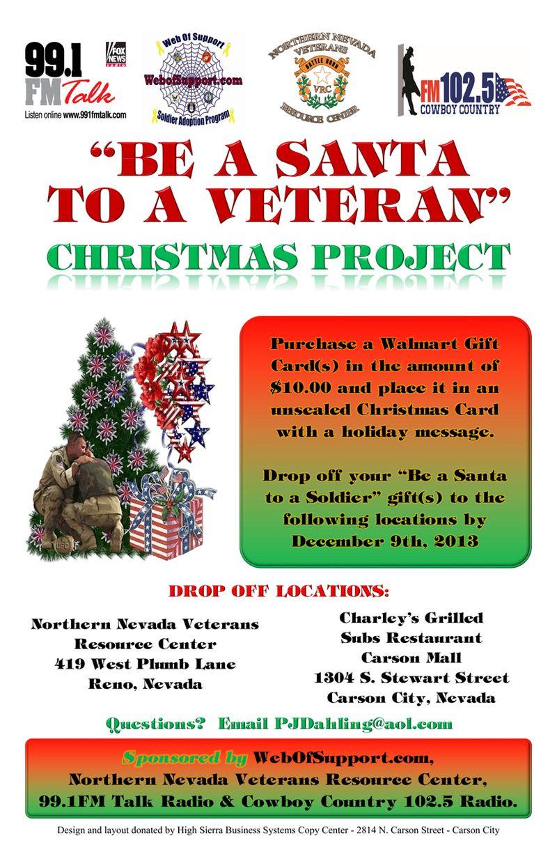 Be a santa to a veteran poster SM
